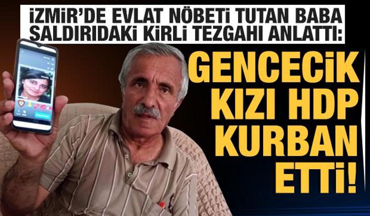 Evlat nöbeti tutan baba: Olaydan önce binayı boşalttılar, gencecik kızı HDP kurban etti! - GÜNCEL Haberleri