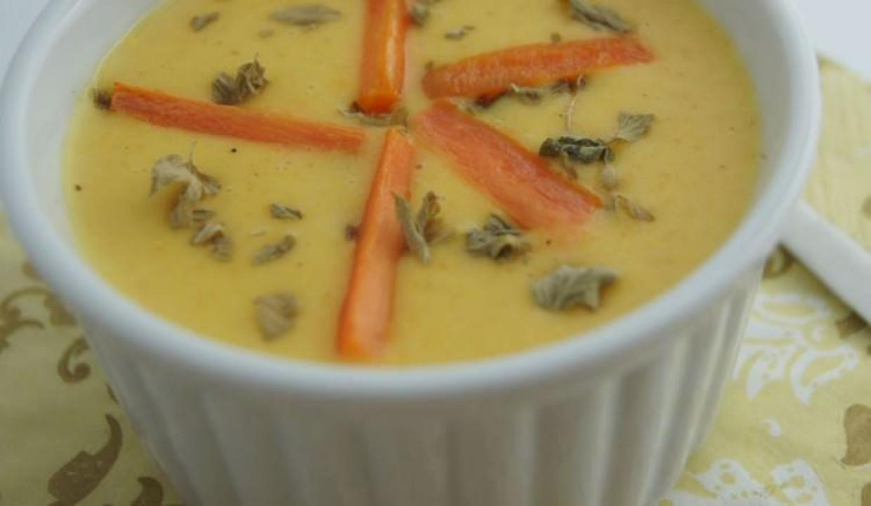 Körili havuç çorbası tarifi