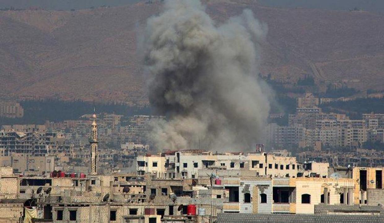 İşgalci İsrail Suriye'ye hava saldırısı düzenledi