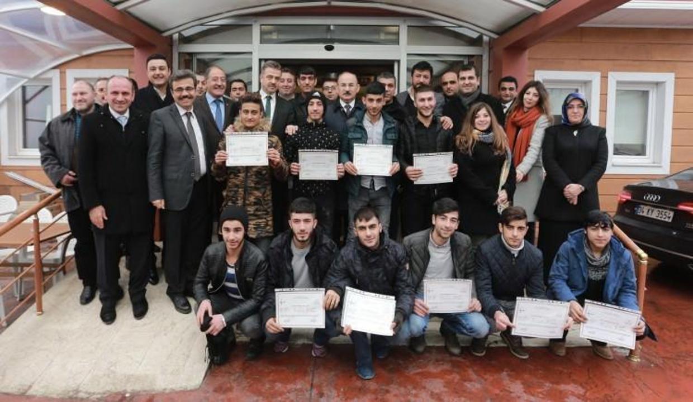 Gaziosmanpaşa Belediyesi'nden gençlere örnek proje