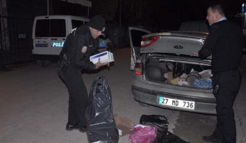 İslahiye'de 650 paket kaçak sigara ele geçti