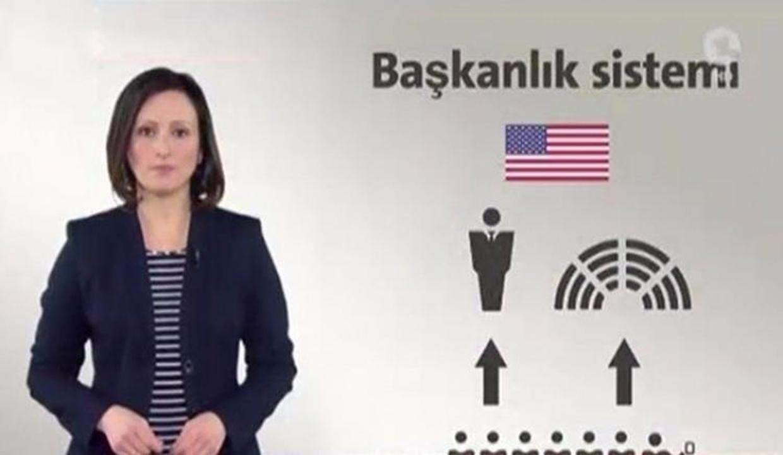 """Devlet televizyonunda Türkçe """"Hayır"""" kampanyası!"""