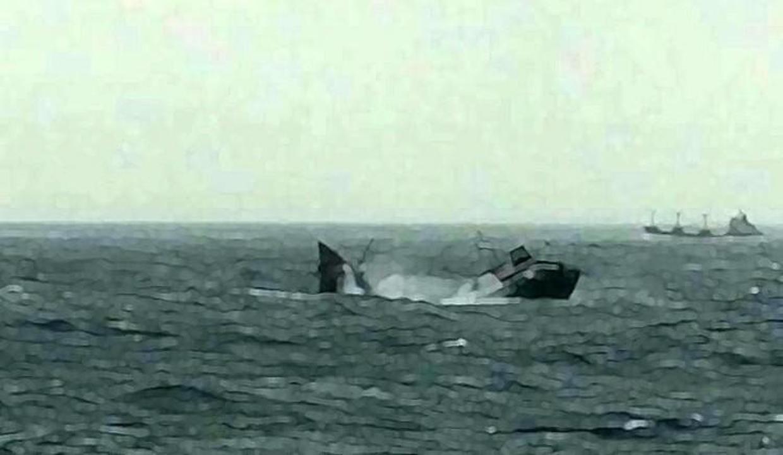 Batan gemiden sadece 2 kişi kurtuldu