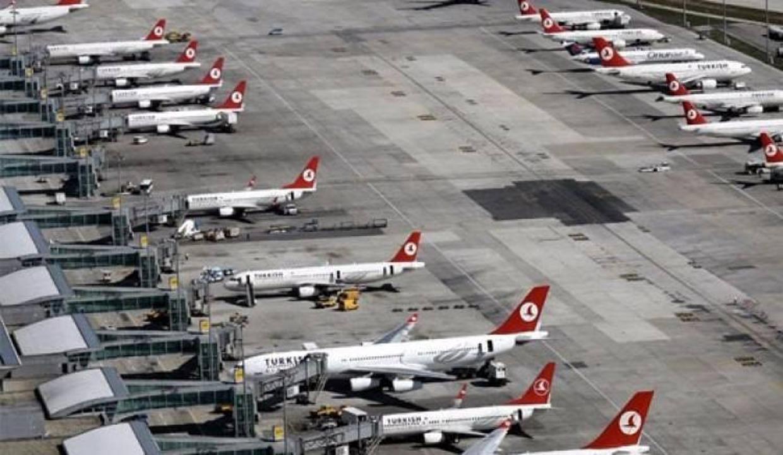 Atatürk Havalimanı pistinde korku dolu anlar!