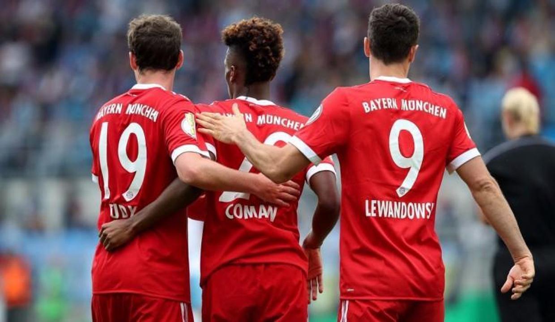 Almanya Kupası'nda Bayern Münih zorlandı ama kazandı