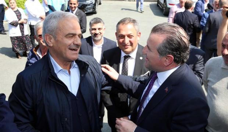 Bakan Bak'tan Rizespor'a ziyaret