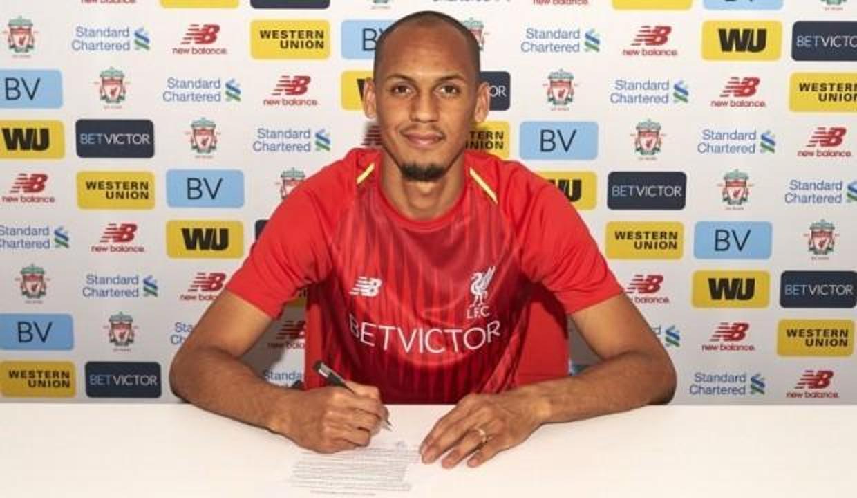 Liverpool, Fabinho'nun sözleşmesini uzattı