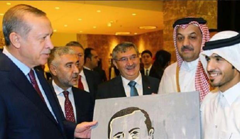 Ünlü sanatçıdan Erdoğan portresi