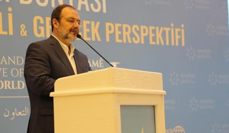 İLKE'nin konferansları başlıyor: İlk konuk Mehmet Görmez
