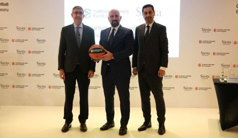 Siesta Euroleaguein yeni resmi sponsoru oldu
