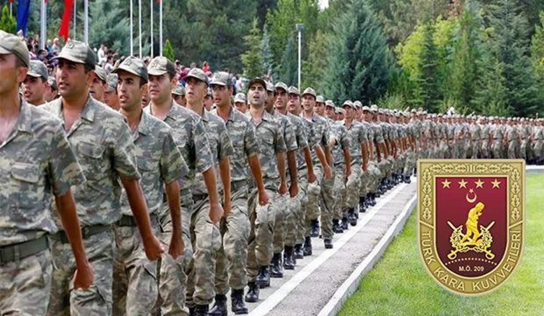 Kara Kuvvetleri Komutanlığı en az ilköğretim mezunu Sözleşmeli Er alımı! Başvuru..