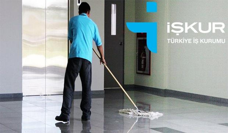 İŞKUR'dan ilkokul mezunu temizlik görevlisi alımı! Başvuru ekranı ve şartları