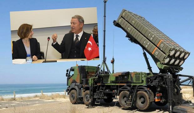 Türkiye ile Fransa arasında yeni gelişme! Akar'dan SAMP-T teşekkürü
