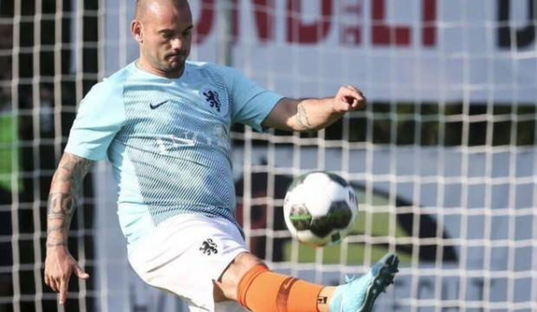Sneijder'in son halini görenler inanamıyor!