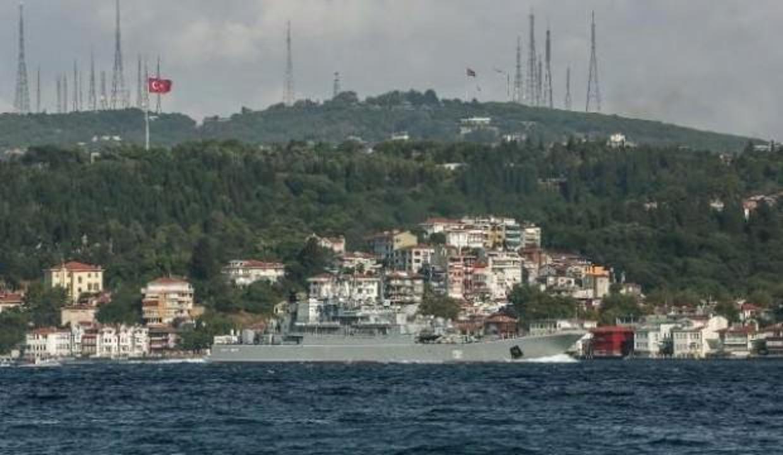 Rus gemisi Sezar Kunikov İstanbul Boğazı'ndan geçiş yaptı