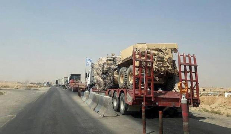ABD Suriye'ye tırlar dolusu silah gönderdi!