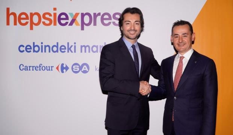 Hepsiburada ve CarrefourSA'dan yeni işbirliği
