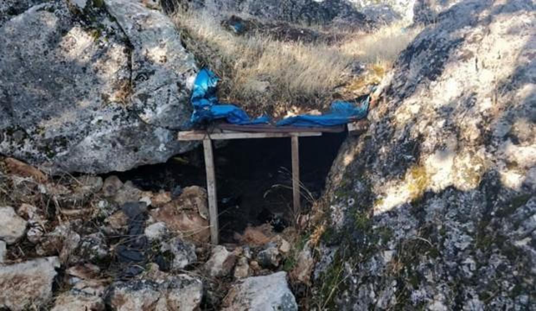 PKK'ya ait sığınak ve mağaralar kullanılamaz hale getirildi