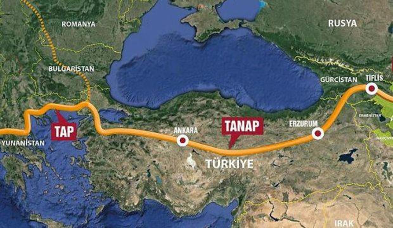 TAP'ın Yunanistan ayağı tamamlandı