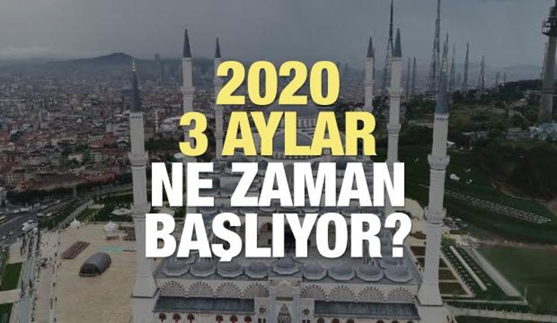 2020 üç aylar bugün mü başlıyor? Receb, Şaban ve Ramazan (3 aylar) ne zaman?