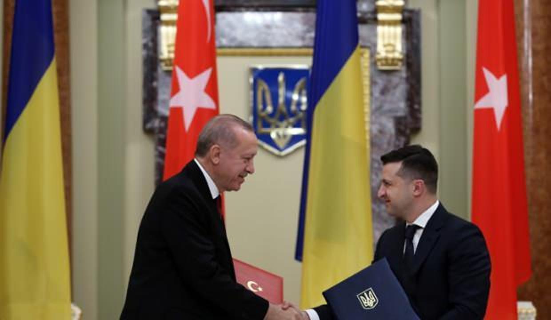 Türkiye ile Ukrayna arasında 6 anlaşma imzalandı