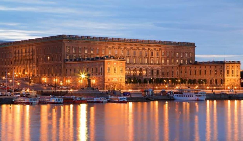 600'den fazla odası ile görkemli mimari Stockholm Sarayı