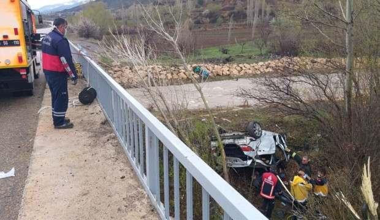 Sivas'tan acı haber: Dereye uçan otomobilde 4 kişi öldü!
