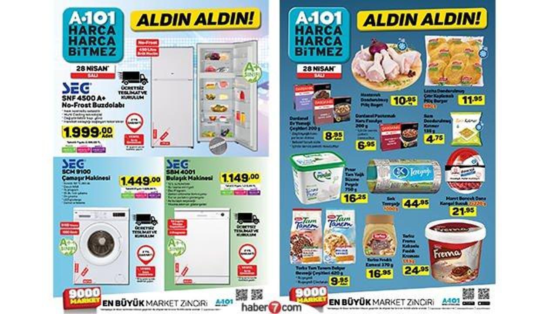 1 Mayıs A101 aktüel kataloğu! Elektronik, gıda ve beyaz eşya ürünlerinde..