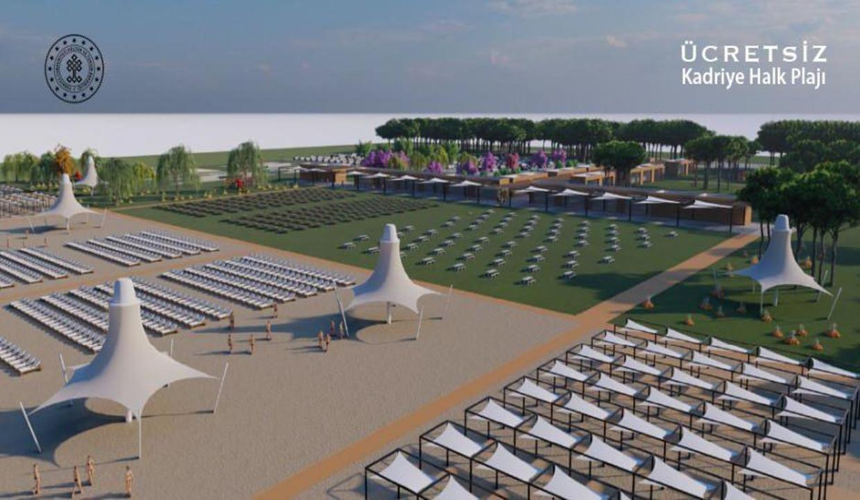Antalya'da 5 yıldızlı 2 halk plajında ücretsiz hizmet