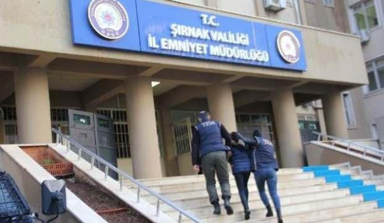 HDP'nin Cizre İlçe Başkanlığı binasının kapısını ateşe veren kişi, PKK şüphelisi çıktı