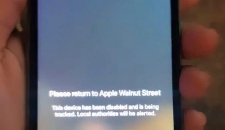 Apple yağmalanan telefonlara uyarı mesajı gönderdi