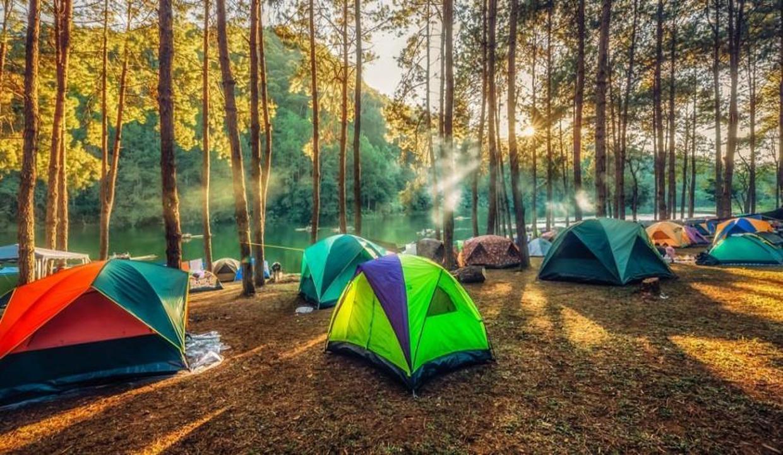İzinsiz alanlara çadır ve kamp kuranlara para cezası