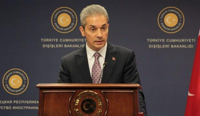 Hami Aksoy'dan, Arap Ligi Genel Sekreteri'ne tepki