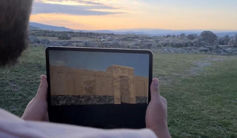 Sanal gerçeklikle 3 bin 500 yıl öncesinin Hattuşa'sına yolculuk