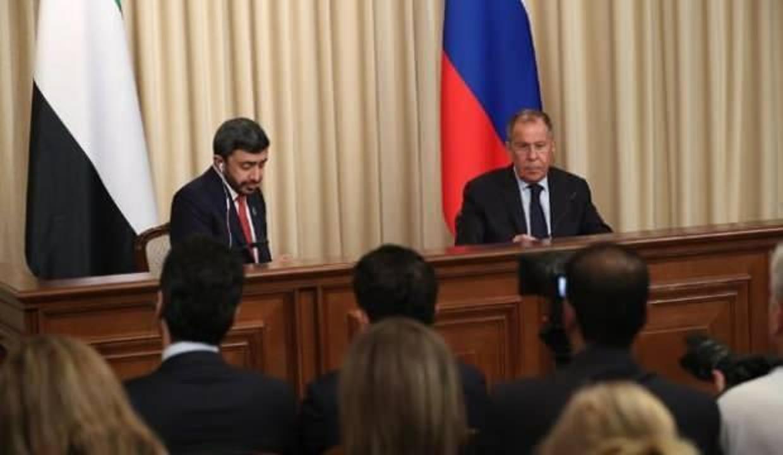 Rusya ve BAE dışişleri bakanları, Orta Doğu ve Kuzey Afrika'yı görüştü