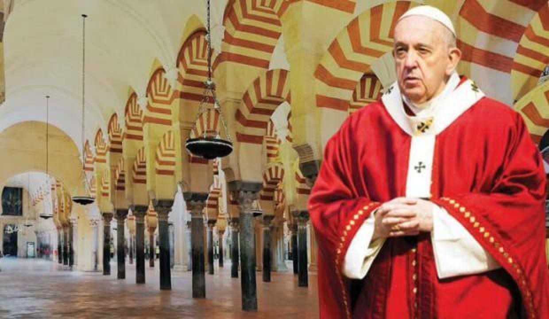 Tarihçiler Papa'ya sordu: Kurtuba için de acı çekiyor musun?
