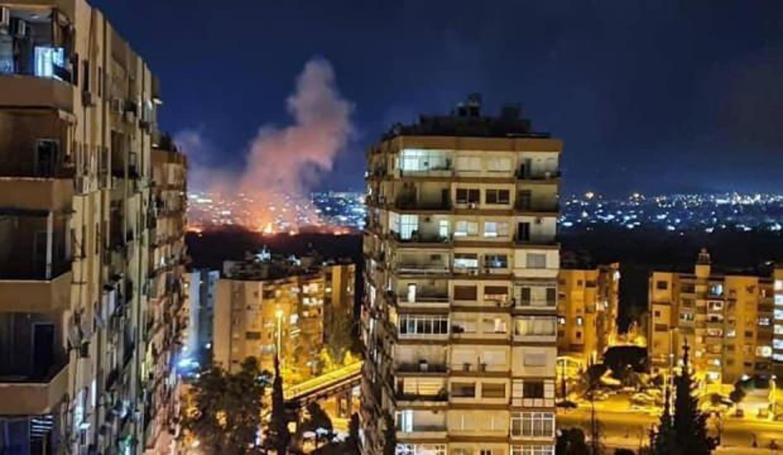 Esed rejiminden İsrail'in Şam'a hava saldırısı düzenlediği iddiası