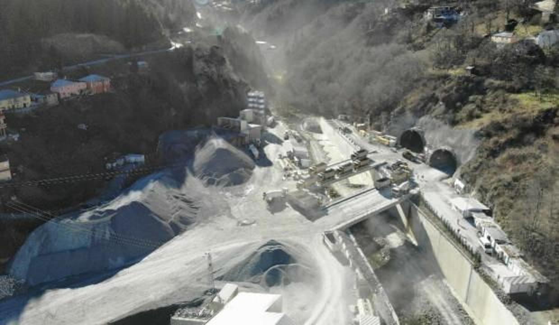 Yeni Zigana tünelinin yüzde 68'i tamamlandı