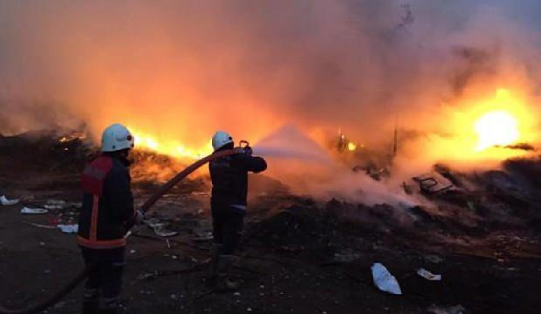 Mersin Alata Araştırma Enstitüsü'nde yangın