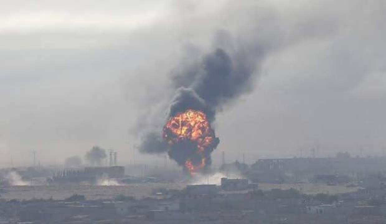Şam'da şiddetli patlama: Elektrikler kesildi