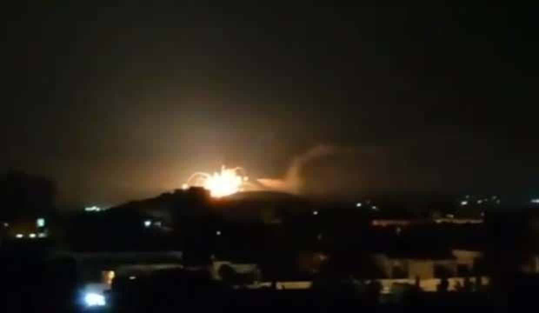 İsrail, Suriye'yi vurdu: Ölü ve yaralılar var