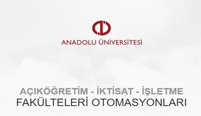 AÖF kayıt yenileme ve yeni kayıt tarihleri! 2020 Anadolu Üniversitesi AÖF kayıt takvimi