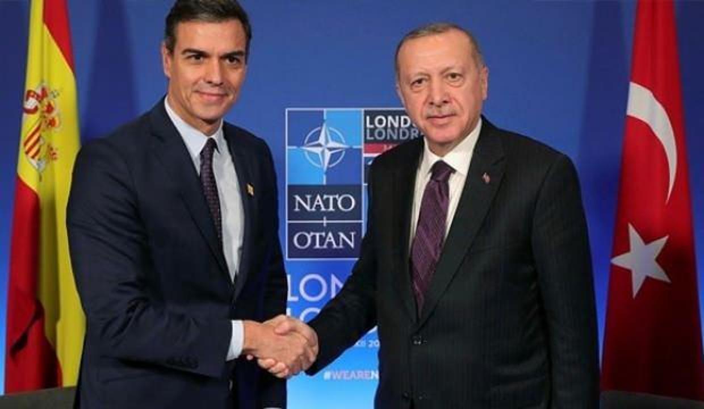Erdoğan, İspanya Başbakanı ile görüştü!