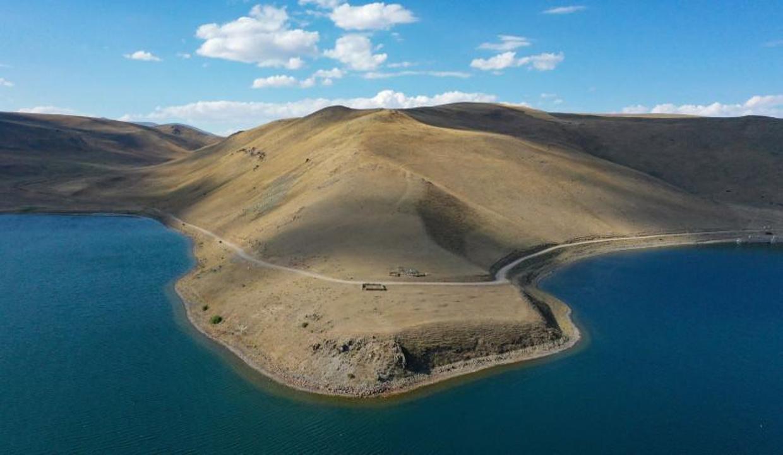 Türkiye'nin en yüksek rakımlı Balık Gölü