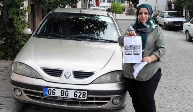 Hiç gitmediği İstanbul'dan hatalı park cezası geldi