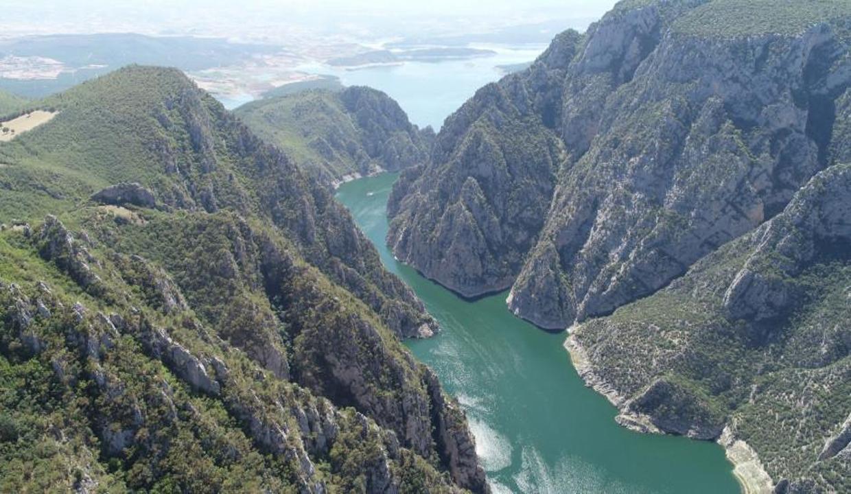 Türkiye'nin ikinci büyük kanyonu: Şahinkaya