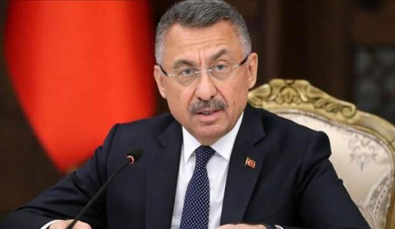 Cumhurbaşkanı Yardımcısı Oktay'dan Oruç Reis gemisi paylaşımı