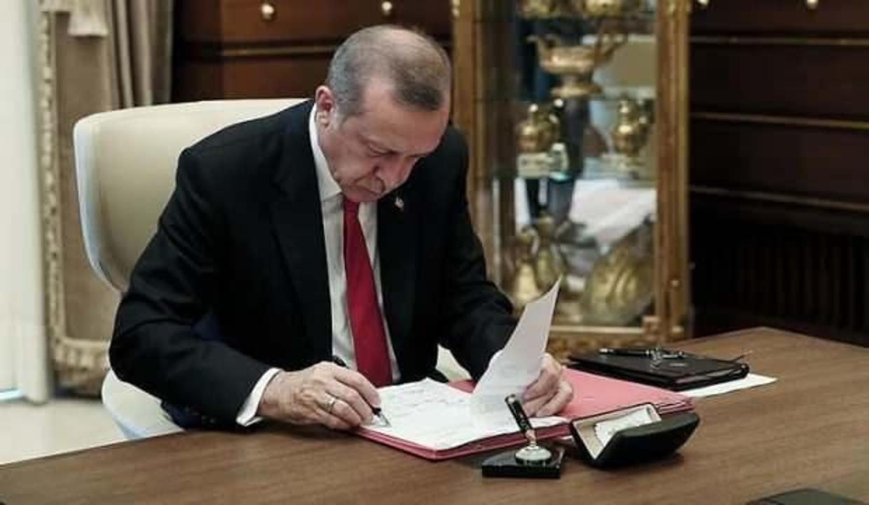 Erdoğan imzaladı! Atama kararları Resmi Gazete'de