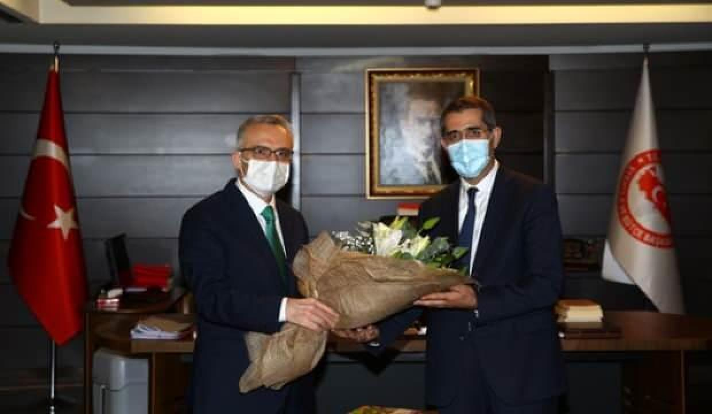 Merkez Bankası Başkanı olan Ağbal, görevini devretti