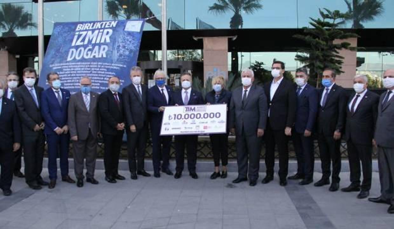 TİM ve İhracatçı Birliklerinden depremzedelere 10 milyon TL destek
